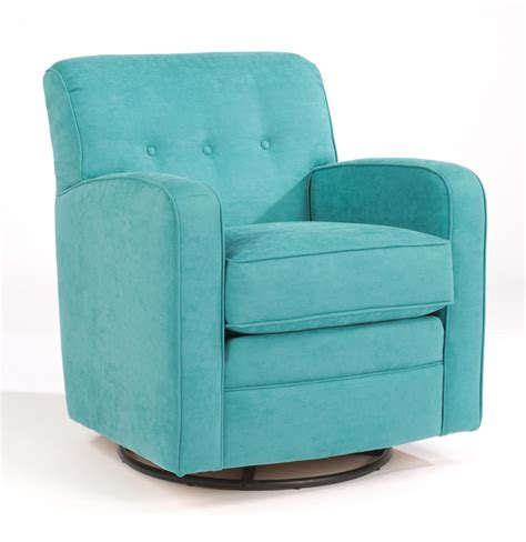 Swivel Accent Chairs With Arms Flexsteel Accents Lavendar Swivel Glider Chair With
