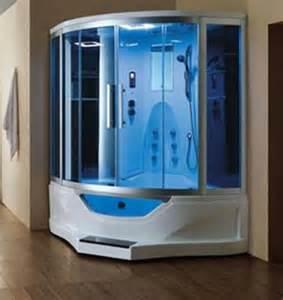whirlpool dusche ariel 702 steam shower with blue glass steam