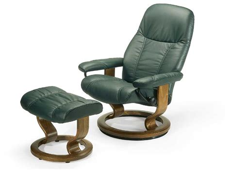 small reclining chair stressless by ekornes stressless recliners 1145015 consul