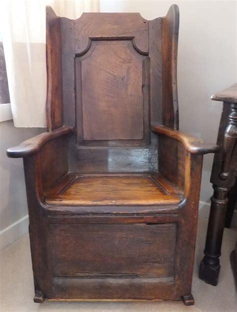 oak lambing chair chairs settles