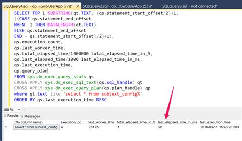 sql query tutorial for sql server how to measure real world sql query performance for asp net