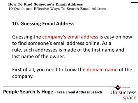 How To Search For Email Addresses On How To Find Someone S Email Address 10 Simple And