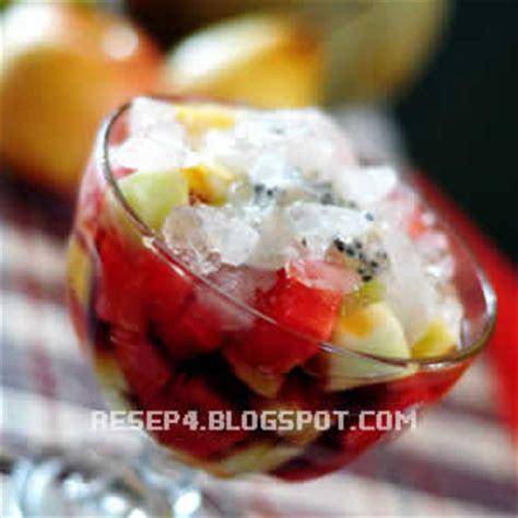 cara membuat es krim buah anggur makanan tradisional sop buah