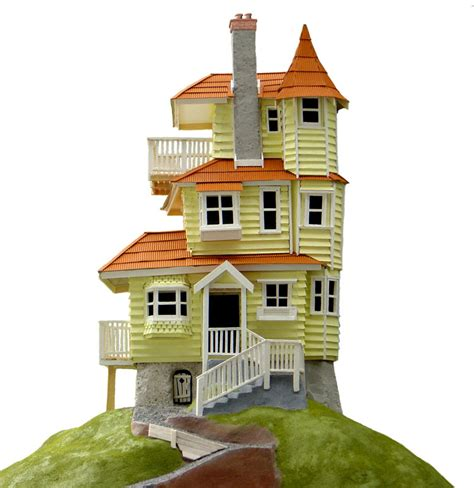 i want to build a home make a balsa house with school holiday projects