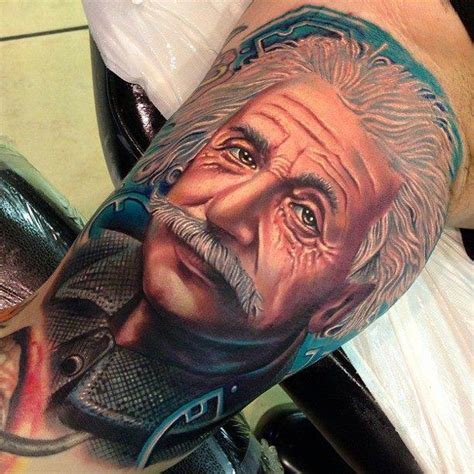 albert einstein tattoo these jaw dropping ideas will your mind