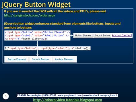 sql server net and tutorial jquery button widget