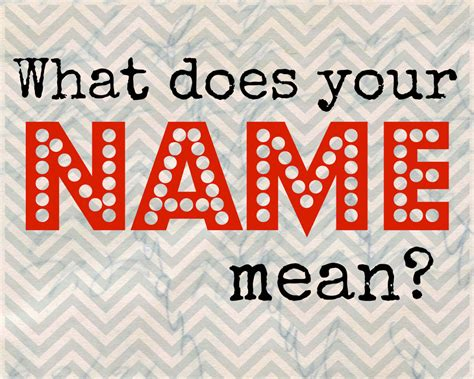 what is your name what does my name mean pinterest what does your name mean a deecoded life