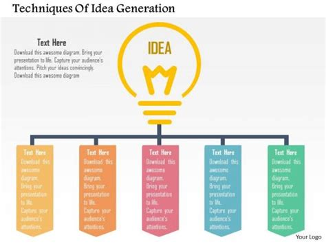 business diagram techniques of idea generation