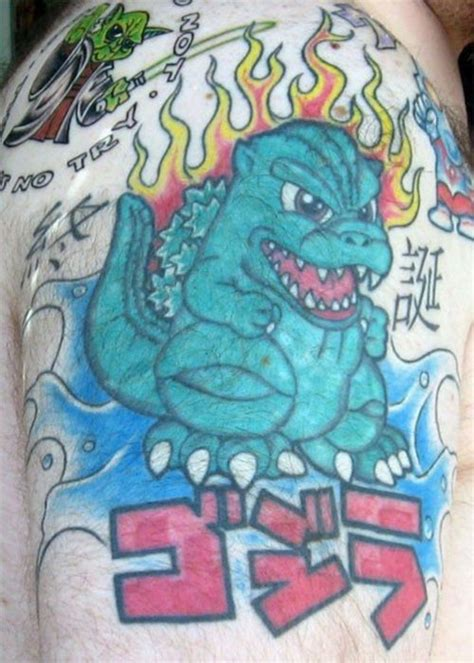 godzilla tattoos godzilla tattoos designs ideas and meaning tattoos for you