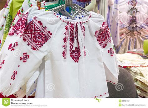 Handmade Cloths - handmade traditional clothes stock photography image
