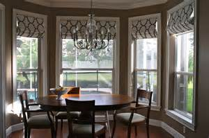 Dining Room Bay Window Treatments by Dining Room Bay Window Treatment Pictures To Pin On Pinterest
