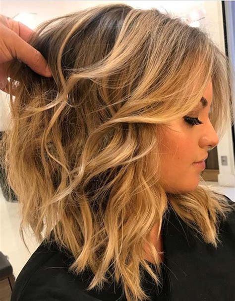 30 cute daily medium hairstyles 2018 easy shoulder shoulder length layered haircuts 2018 haircuts models ideas