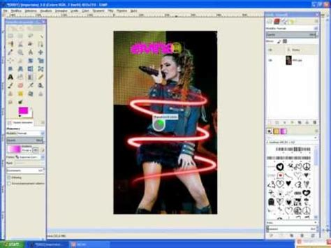 tutorial gimp 2 8 italiano speed tutorial gimp 2 8 ita neon effect text testo