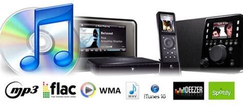 format audio numerique squeezebox les formats audio num 233 riques et les services