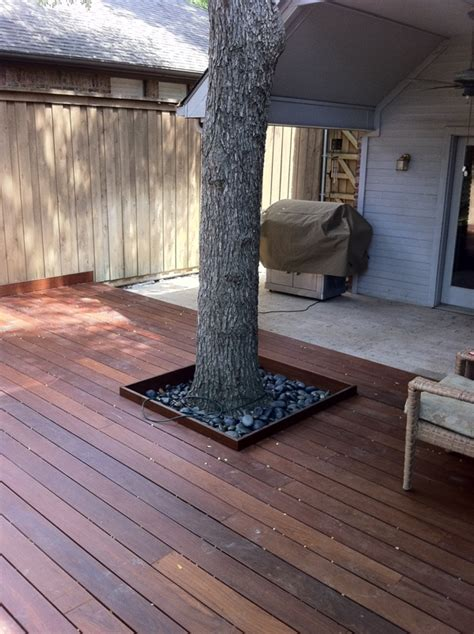 backyard ipe deck  carlos gallego design edeckcom