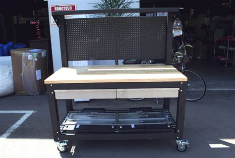 bench costco rolling workbench costco home design ideas