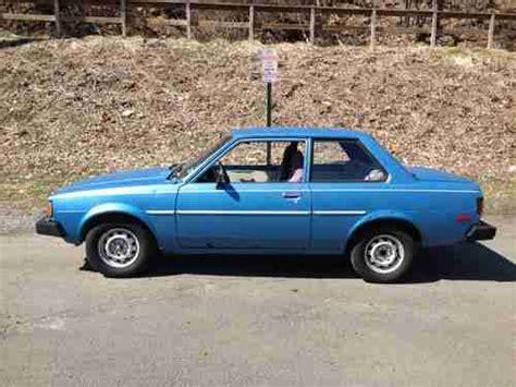 1980 Toyota Corolla Sale Purchase Used 1980 Toyota Corolla 1 8 Stock No