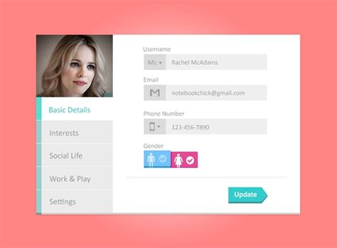 ui pattern profile company profile template free psd download 300 free psd