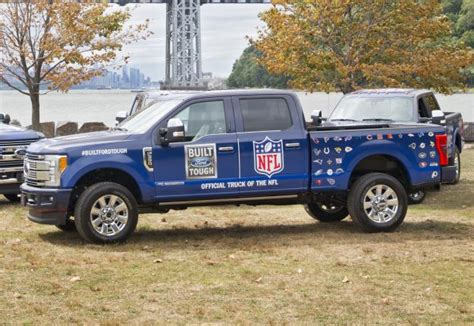 ford trucks named official truck of the nfl real vail
