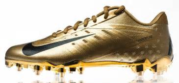 gold football shoes nike football elite11 vapor talon elite cleats sole