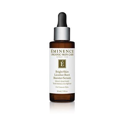 bright skin licorice root booster serum eminence organic