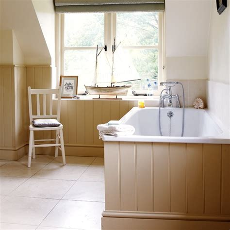 panelled bathroom ideas neutral panelled bathroom how to decorate with neutrals