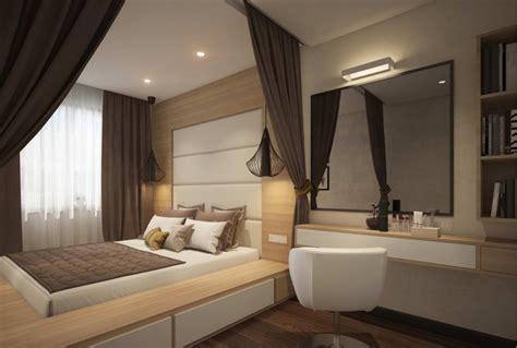 nur matratze als bett podestbett bauen praktische l 246 sung f 252 rs moderne schlafzimmer