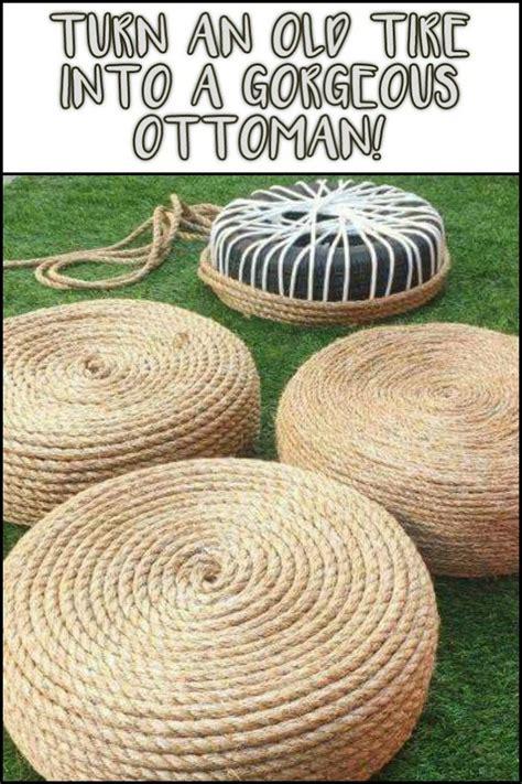 tire rope ottoman best 25 tire ottoman ideas on pinterest rope tire