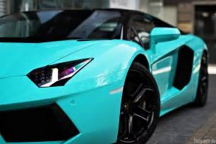 Blue Lamborghini Blue Lamborghini Aventador Cars And