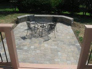 Composite Patio Pavers Deck And Patio Together In We Do It All The Time Archadeck Of