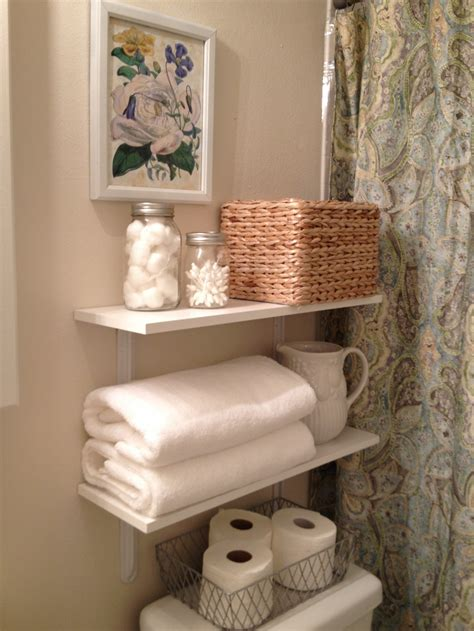 bathroom shelves decorating ideas adorable decorating designs and ideas for the small bathroom