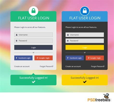 Best Home Design App Ipad Pro flat login form psd psdfreebies com