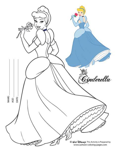 cinderella cartoon coloring pages cinderella coloring sheet
