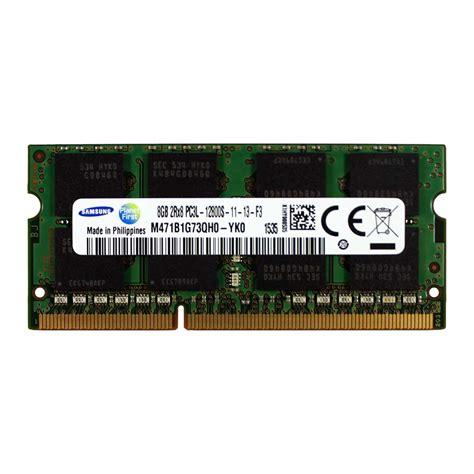 Hp Samsung Memori 8gb samsung m471b1g73qh0 yk0 8gb 2rx8 ddr3 pc3l 12800 1600mhz