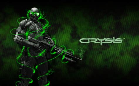 green wallpaper video games crysis fondo de pantalla and fondo de escritorio