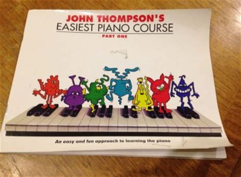 Thompson Easiest Course Part 7 thompsons easiest piano course part one for sale in