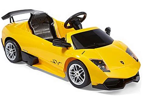 Lamborghini Ride Jcpenney Kid S Ride On Lamborghini Murcielago For 50