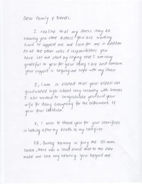 Letter To Families From review letter letter project stanford medicine
