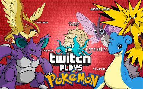 twitch plays pokemon altogether by enttei on deviantart