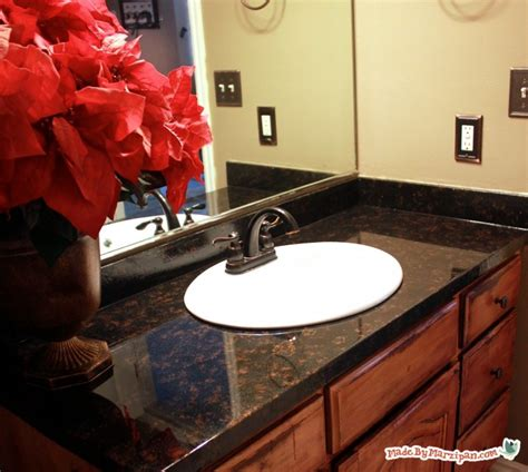 painting laminate bathroom countertops how to refinish laminate counters made by marzipan