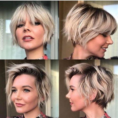 growing short hair to midlenght 2018 popular short hairstyles for growing out a pixie cut