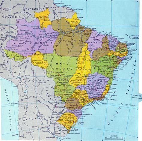Brésil Mapa Do Brasil S 233 Culo 20