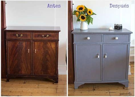 chalk paint para muebles de melamina antes y despu 233 s transformar un mueble con chalk paint