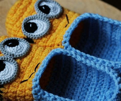 minion crochet slippers pattern crochet minion slippers pattern 28 images 301 moved