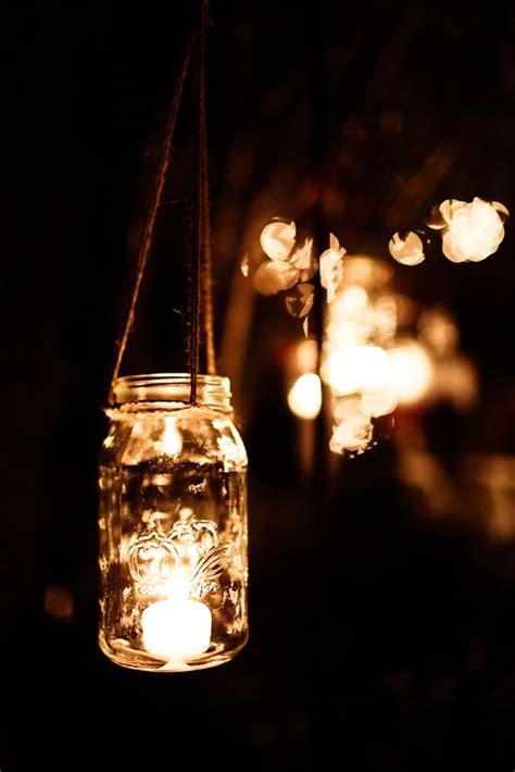mason jar lights reception ideas pinterest