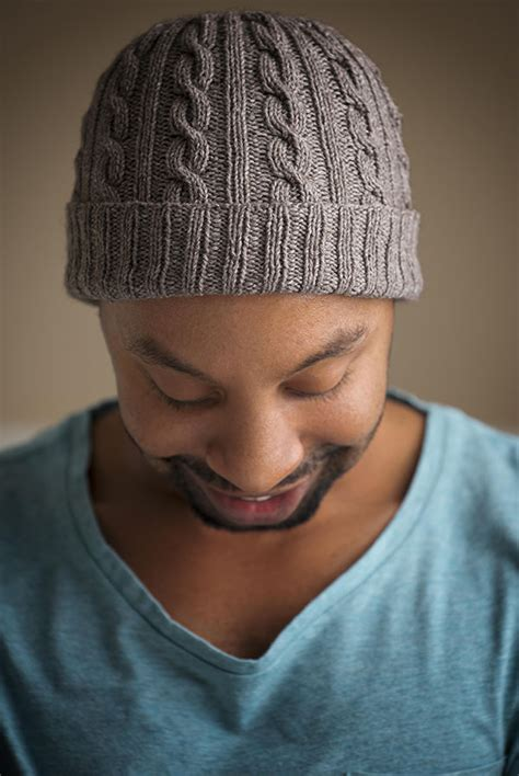 mens knit hat pattern approved cabled hat pattern expression fiber arts