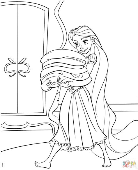 coloring page rapunzel tower tangled rapunzel coloring page free printable coloring pages