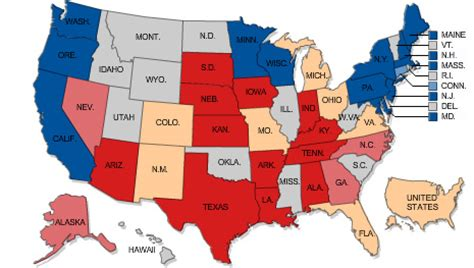 map usa democrat republican will midwest heat wave shift republican views on climate