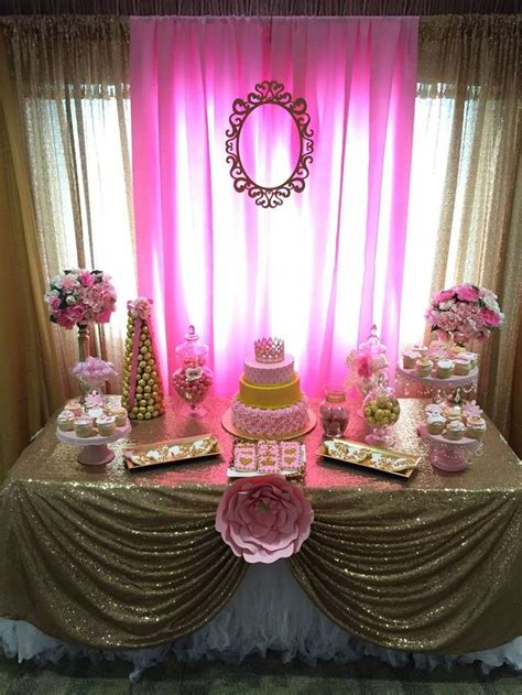 Baby Shower Princess Decorations by 17 Best Ideas About Princess Baby Showers On