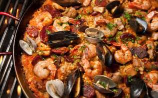 Seafood grilled paella recipe chowhound